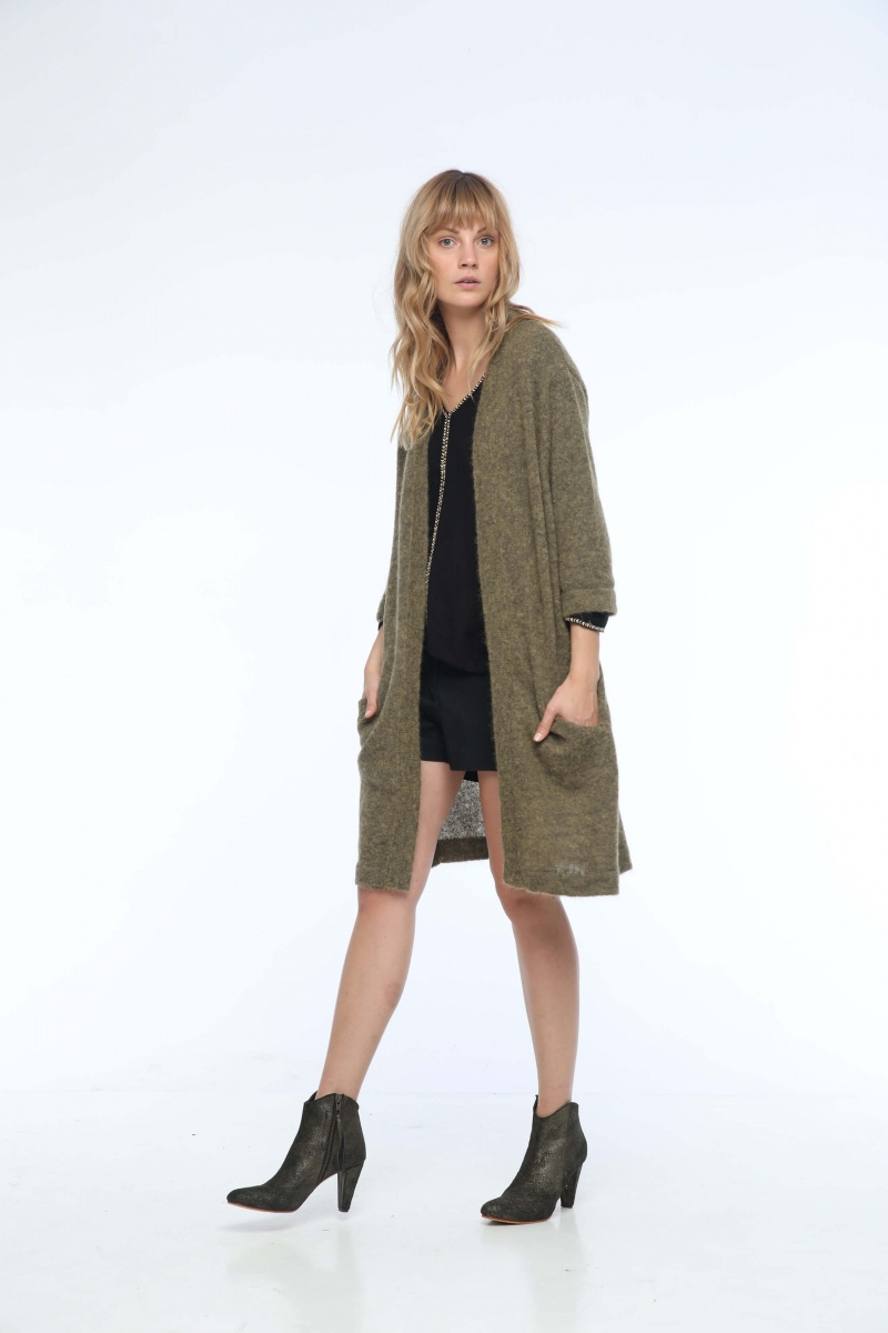 HILDA LONG CARDIGAN