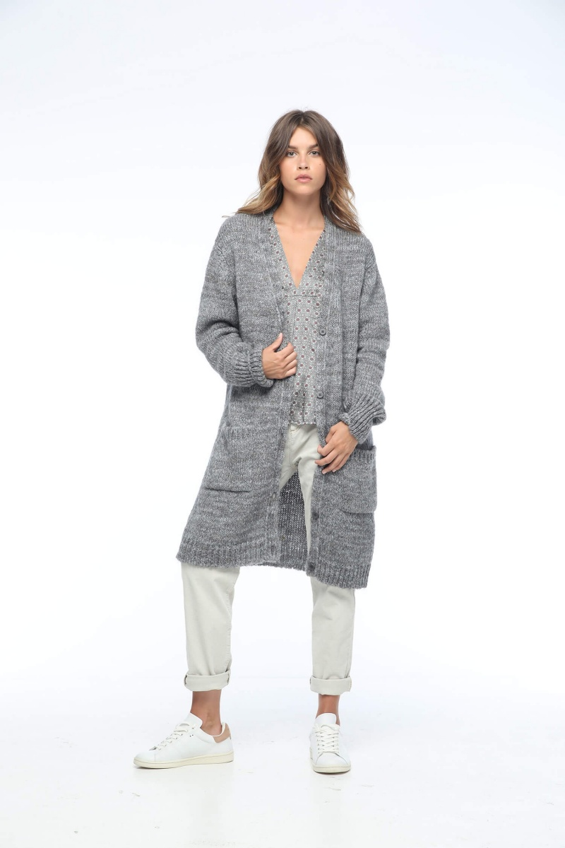 MAEVE LONG CARDIGAN